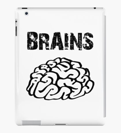 BRAINS by Zombie Ghetto iPad Case/Skin