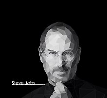 Steve Jobs by aerionzzz