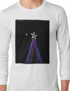 Moon and Stars. Long Sleeve T-Shirt