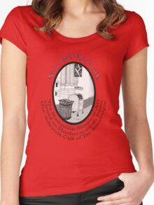 NYC-the Metropolitan Museum of Art is closed Mondays Women's Fitted Scoop T-Shirt