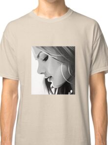 Black and white woman Classic T-Shirt