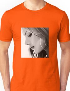 Black and white woman Unisex T-Shirt