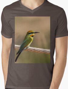 Rainbow Bee Eater Mens V-Neck T-Shirt