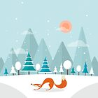 The Fox is back by Orce Vasilev