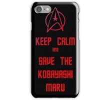 Star Trek Kobayashi Maru iPhone Case/Skin