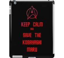 Star Trek Kobayashi Maru iPad Case/Skin
