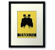 Watchmen / Nite Owl II (Posters, Prints, Stickers) Framed Print