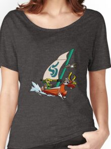 "Cell shaded ""The Wind Waker"" Women's Relaxed Fit T-Shirt"
