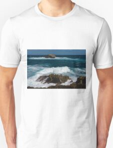 Boiling the Ocean at Laie Point State Wayside, Oahu's North Shore in Hawaii Unisex T-Shirt