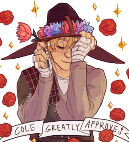 Cole Approval - Dragon Age Sticker