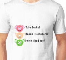 Bacon is Gooderer Unisex T-Shirt
