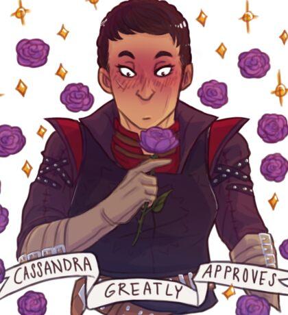 Cassandra Approval - Dragon Age Sticker