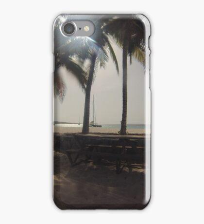 coconut trees iPhone Case/Skin