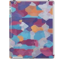 Watercolor pieces iPad Case/Skin