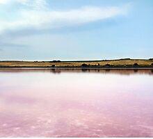 Pink Lake by James McKenzie