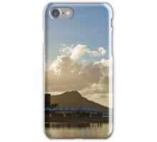 Morning Gold in Waikiki - Impressions of Hawaii iPhone Case/Skin