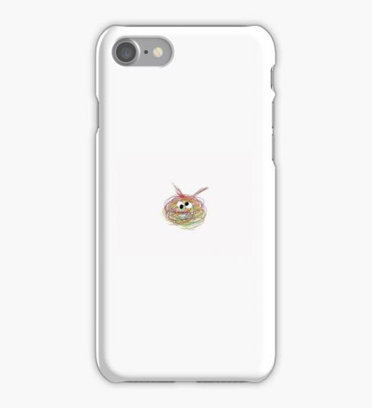 Naked Scribble iPhone Case/Skin