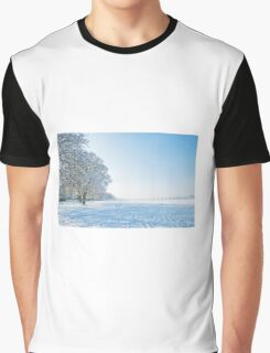 Snow scene  Graphic T-Shirt