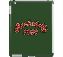 Rockabilly 1959 iPad Case/Skin