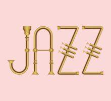 Wonderful Gold Jazz  Kids Tee