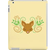 Sleeping in the den iPad Case/Skin