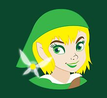 If LINK was really a Princess? by jazzydevil