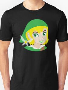 If LINK was really a Princess? Unisex T-Shirt