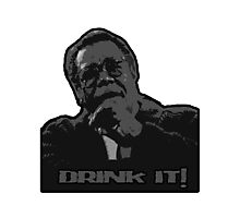 drink it! - weird science Photographic Print