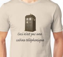 This is not a phone box Unisex T-Shirt