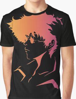 Spike Cowboy Bebop Graphic T-Shirt