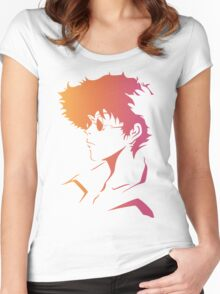 Spike Cowboy Bebop Women's Fitted Scoop T-Shirt