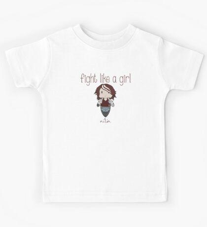 Fight Like a Girl - Remember Paris Kids Tee