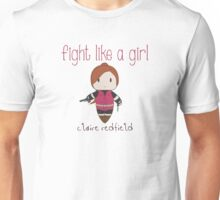 Fight Like a Girl - Zombie Killer Girl Unisex T-Shirt