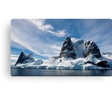 Antarctic mountains  Canvas Print