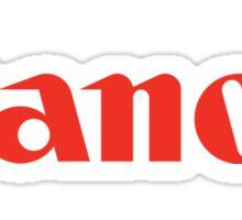 Canon Sticker