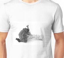 Broccoli, black and white image Unisex T-Shirt