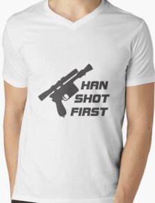 The Smuggler Who Shots First Mens V-Neck T-Shirt