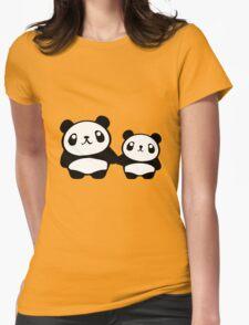 Cute Pandas holding hands T-Shirt