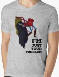 Marceline Just Your Problem Mens V-Neck T-Shirt