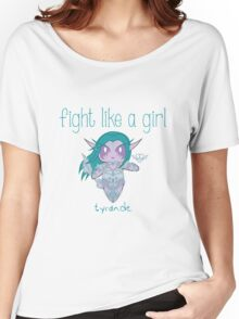 Fight Like a Girl - Elven Priestess Women's Relaxed Fit T-Shirt