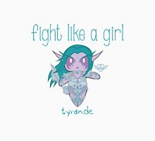 Fight Like a Girl - Elven Priestess Unisex T-Shirt