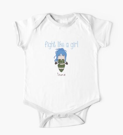 Fight Like a Girl - Fighter One Piece - Short Sleeve