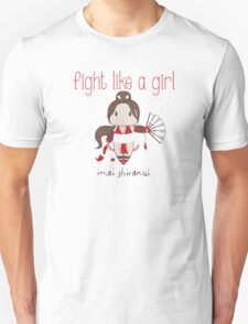 Fight Like a Girl - Cute Fighter T-Shirt