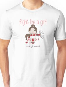 Fight Like a Girl - Cute Fighter Unisex T-Shirt