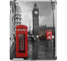 London Red Bus and Telephone Box iPad Case/Skin