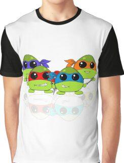 Cute Teenage Mutant Ninja Turtles Graphic T-Shirt