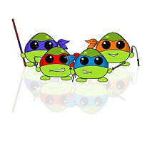 Cute Teenage Mutant Ninja Turtles Photographic Print