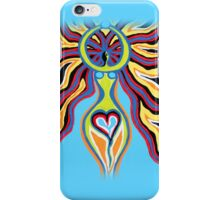 Goddess of the Moon - Abstract Art by Valentina Miletic iPhone Case/Skin