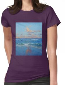 Pacific Ebb Womens Fitted T-Shirt