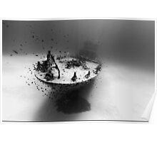 Sunken Ship Photo Poster